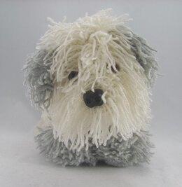 Cracker The Old English Sheep Dog