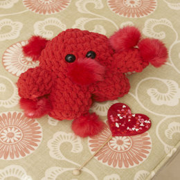 Pom-Monster in Red Heart US - LW3508 - Downloadable PDF
