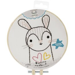 Needle Creations Easy Stitch Kits - Bunny - 6in