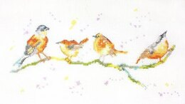 Creative World of Crafts Birds of a Feather Cross Stitch Kit
