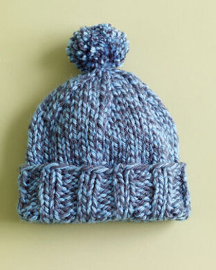 Everyday Hat in Lion Brand Hometown USA - L0197C. Free. Free pattern 1979d808f41
