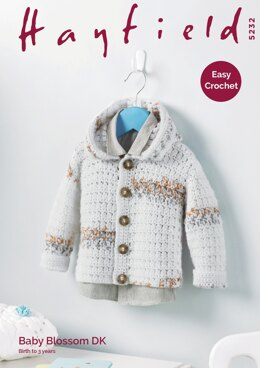 Boy's Jacket in Hayfield Baby Blossom DK - 5232 - Downloadable PDF