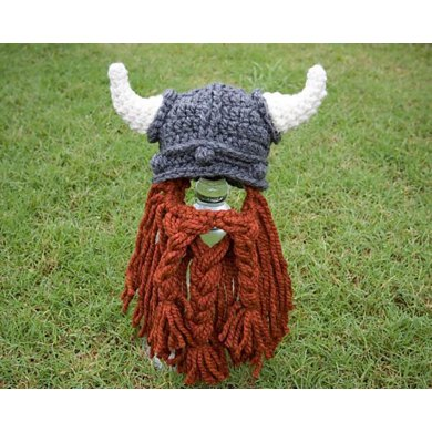 Viking Hat With Beard Crochet Pattern By Katharine Kennedy