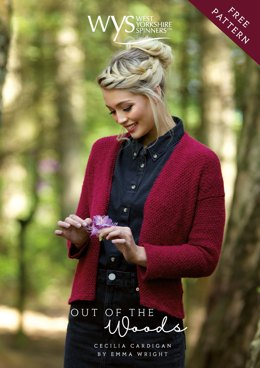 Cecilia Cardigan  in West Yorkshire Spinners Illustrious DK - Downloadable PDF