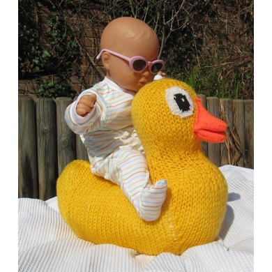 Giant Rubber Duck (Ducky) Toy