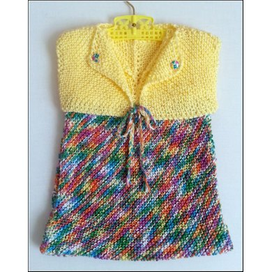Toddler's Dress & Bolero (allsquareknits)