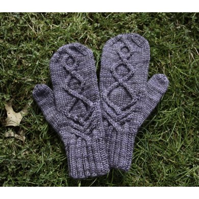 Nord Mittens of Dwindling Frost