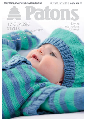 18 Classic Baby Designs Book by Patons - 3791