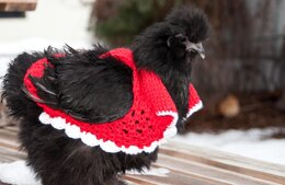 Tunisian Crochet Chicken Sweater