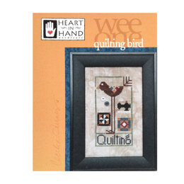 Heart in Hand Wee One: Quilting Bird - HH462 -  Leaflet