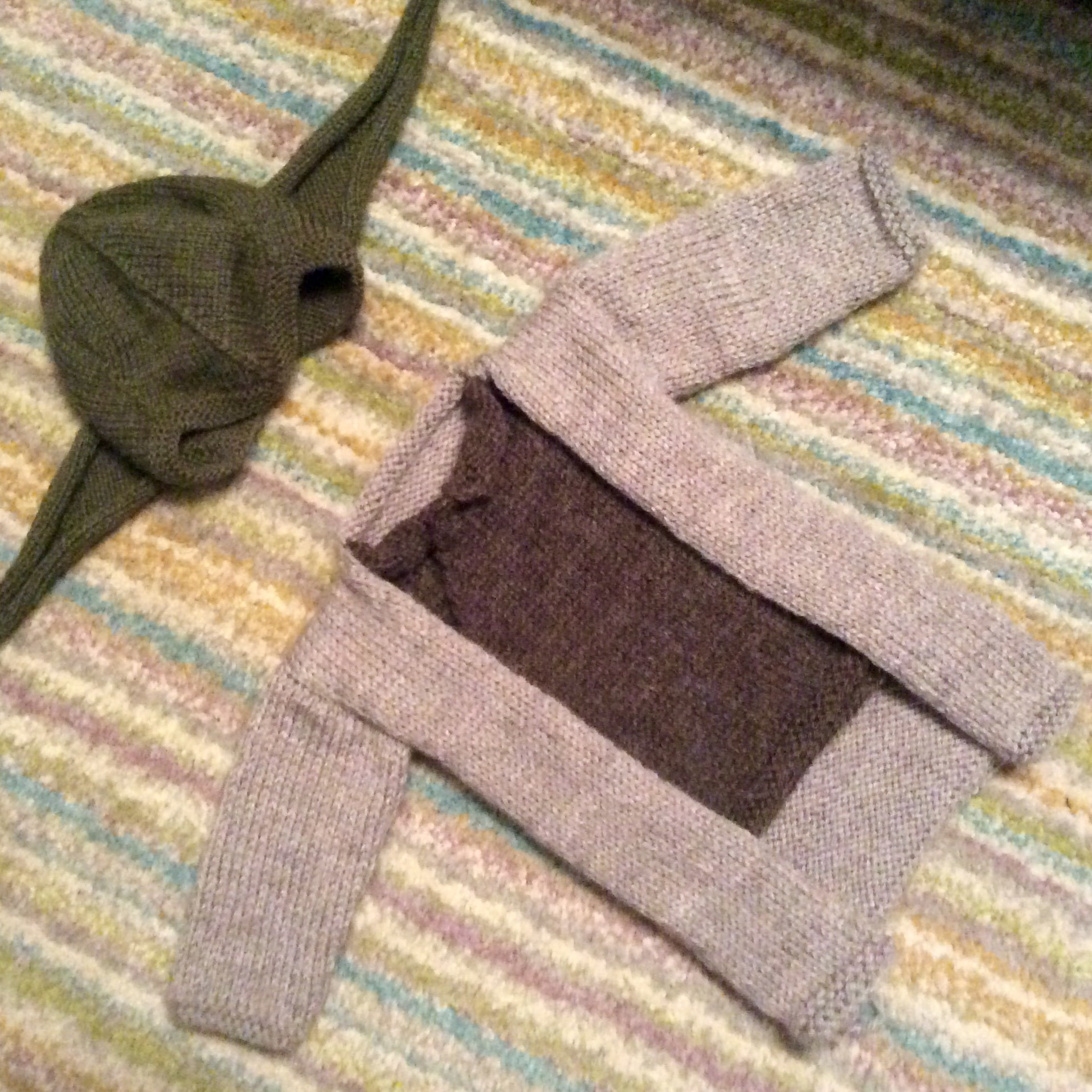 Yoda costume cardigan. 0-6 months. Adapted from Baby Yoda Sweater ...