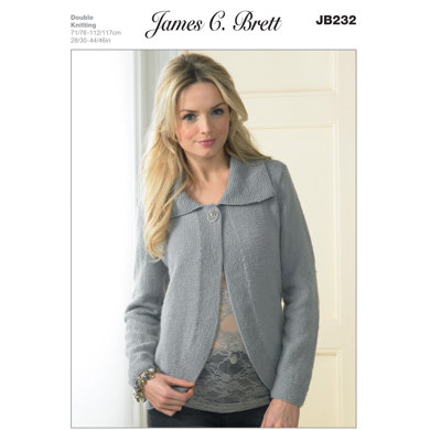 Ladies' Jacket in James C. Brett Legacy DK - JB232