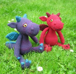 Cuddly Dragon Amigurumi