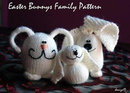 Easter Bunnies Family