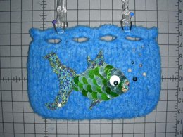 Something Fishy Felted Bag