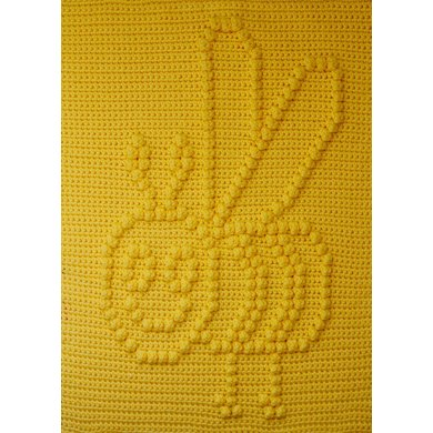 Busy Buzzy Bee Baby Blanket