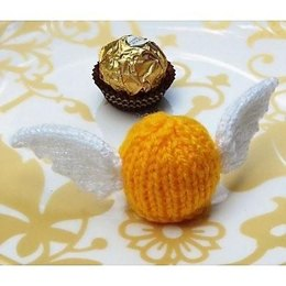 The Golden Snitch - Halloween Chocolate Cover