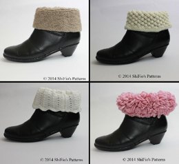 205 Ladies Boot Toppers Knitting Pattern #205