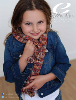 Bobble Scarf in Ella Rae Lace Merino Chunky - ER13-02 - Downloadable PDF