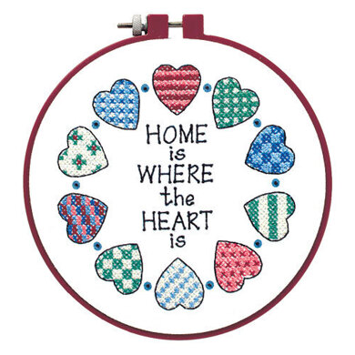 Dimensions Home and Heart Cross Stitch Kit