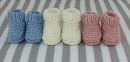 New Baby 4Ply Everyday Booties
