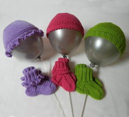 So Sweet Mix and Match Baby Hats and Booties