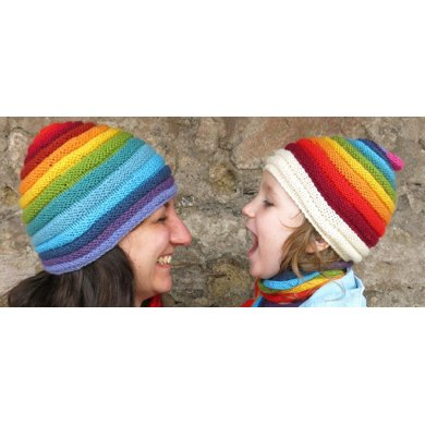 Love and Rainbows Hat