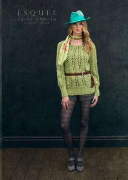 Umbria Sweater in Louisa Harding Esquel - L203