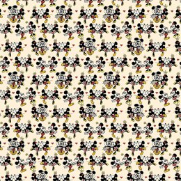 "Cricut Patterned Premium Vinyl Sampler 12""X12"" 6/Pkg - Mickey And Friends -Oh Boy! -Removable"