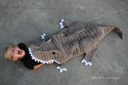 Bulky & Quick T-Rex Blanket