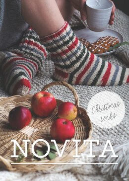 Christmas Socks in Novita 7 Veljesta Christmas - Downloadable PDF