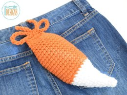 Moxie and Roxy The Fox Tail Crochet Pattern