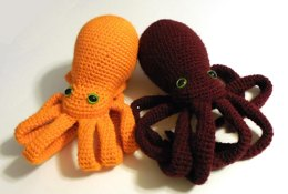 Realistic Octopus Amigurumi/Plush Toy