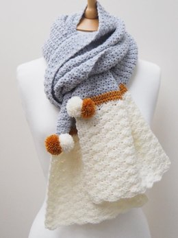 Snow Dipped Scarf