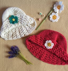 Baby summer tulip Hat