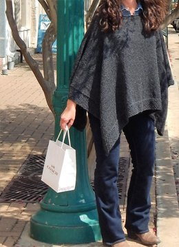 Georgetown Poncho