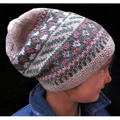 Berry Picking Slouchy Hat
