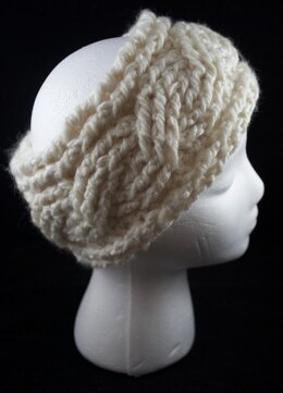 Quick and Easy Cabled Headband