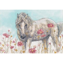 Dimensions Wild Horse Counted Cross Stitch Kit - 14in x 10in