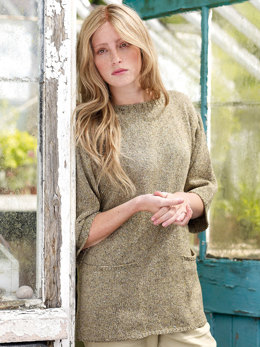Lambrook Sweater in Rowan Purelife Revive