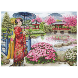 Anchor The Japanese Garden Cross Stitch Kit
