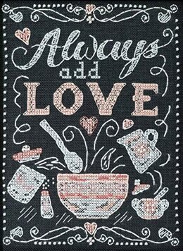 Mill Hill Add Love Sentiments Cross Stitch Kit