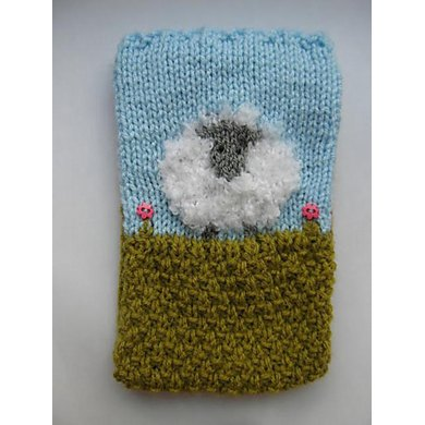 Sheep Circular Needles Holder Knitting Pattern By Justyna Kacprzak