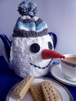 Christmas Snowman Tea Cosy