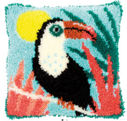 Vervaco Toucan Latch Hook Rug Kit - Multi