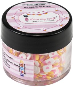 Dress My Crafts Shaker Elements 8gm - Ice Cream Candies
