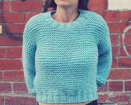 Easy Super Chunky Midriff Jumper