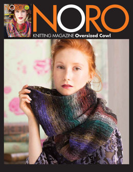 Oversized Cowl in Noro Taiyo Sock - 37 - Downloadable PDF