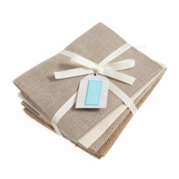 Groves Natural Fat Quarter Bundle - Beige