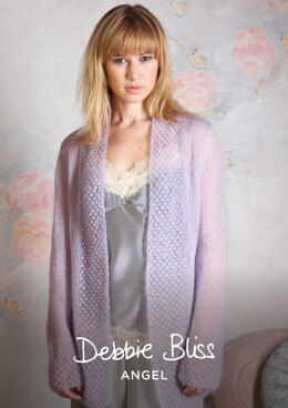 Joselyn Cardigan in Debbie Bliss Angel - DBS002 - Downloadable PDF